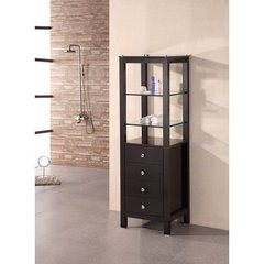 Buy Design Element 3-Drawers Contemporary Linen Cabinet on sale online