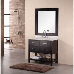 Buy Design Element 36 Inch Single Bathroom Vanity Set on sale online