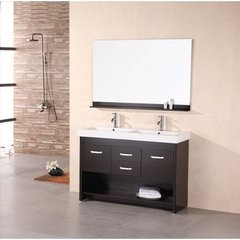Buy Design Element Citrus 48 Inch Double Sink Bathroom Vanity Set on sale online
