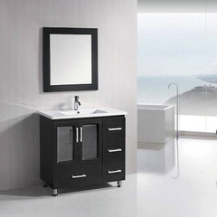 Buy Design Element Design Element Stanton 36 Inch Single Sink Vanity Set w/ Drop In Sink on sale online