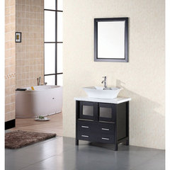 Buy Design Element Elite 30 Inch Single Sink Vanity Set on sale online