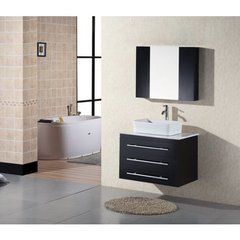 Buy Design Element Elton 30 Inch Wall Mount Bathroom Vanity Set on sale online
