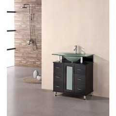 Buy Design Element Huntington 30 Inch Espresso Single Sink Vanity Set on sale online