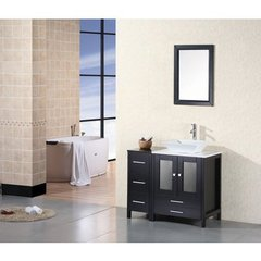 Buy Design Element Jacobson 36 Inch Single Sink Bathroom Vanity Set on sale online