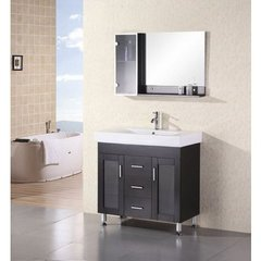 Buy Design Element Miami 36 Inch Single Sink Vanity Set on sale online