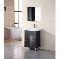 Buy Design Element Oslo 24 Inch Single Sink Vanity Set on sale online