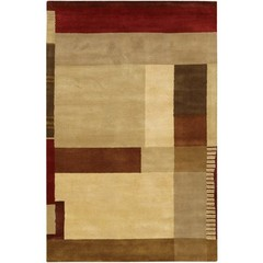 Buy Chandra Rugs Dream Hand-Tufted Contemporary Brown Rug - DRE3128 on sale online
