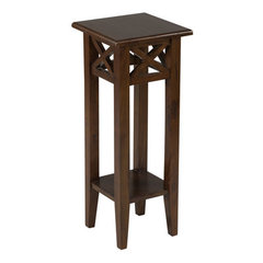 Buy Cooper Classics Dublin 29.5 Inch Pedestal in Light Brown on sale online