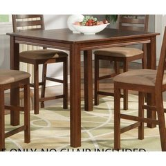 Buy East West Furniture Cafe Pub 42x42 Square Counter Height Table in Espresso on sale online