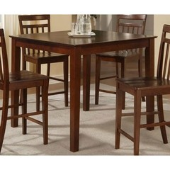 Buy East West Furniture East West 42x42 Square Counter Height Table in Mahogany on sale online