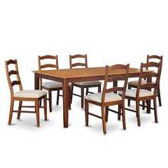 Buy East West Furniture Henley 9 Piece 72x42 Rectangular Dining Room Set w/ 8 Dining Chairs on sale online