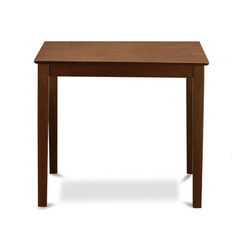 Buy East West Furniture Vernon Pub 36x36 Square Counter Height Table in Mahogany on sale online