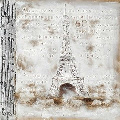 Buy Paragon Eiffel Tower 31x31 Framed Wall Art  on sale online