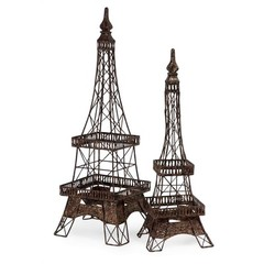 Buy IMAX Worldwide Eiffel Tower Accents (Set of 2) on sale online