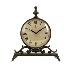 Buy IMAX Worldwide Eilard Iron Table Clock on sale online