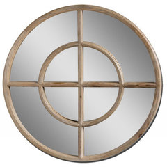 Buy Uttermost Eliseo 35 Inch Round Wall Mirror on sale online