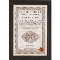 Buy Paragon Embossed Bookplate Framed Wall Art on sale online
