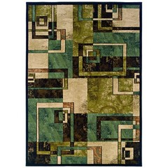 Buy Oriental Weavers Sphinx Emerson Contemporary Beige Rug - EME-2817A on sale online