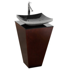 Buy Wyndham Collection Esprit 20.13 Inch Single Sink Vanity Set w/ Granite Sink on sale online