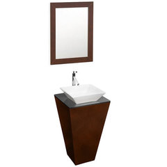 Buy Wyndham Collection Esprit 20.13 Inch Single Sink Vanity Set w/ Porcelain Sink on sale online