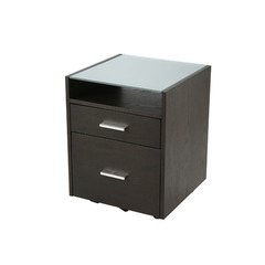 Buy Eurostyle Ballard File Cabinet in Wenge & Silver on sale online