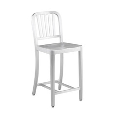 Buy Eurostyle Cafe 24 Inch Counter Chair in Matte Aluminum on sale online