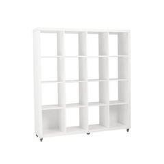Buy Eurostyle Sabra 4X4 Storage Shelving Unit in White on sale online