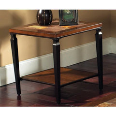 Buy Steve Silver Feliz 24x24 Square End Table in Rich Cherry on sale online