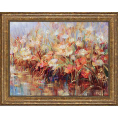 Buy Paragon Floral Reeds Framed Wall Art on sale online