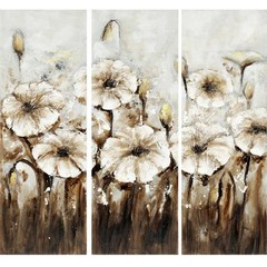 Buy Paragon Florescence 16x47 Framed Wall Art (Set of 3) on sale online