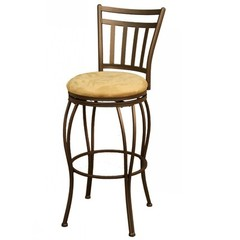 Buy American Heritage Folio 24 Inch Counter Height Stool in Topaz on sale online