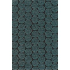 Buy Chandra Rugs Fresca Hand-Tufted Contemporary Blue Rug - FRE4560 on sale online