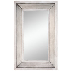 Buy Cooper Classics Garner 44x28 Mirror in Silver on sale online