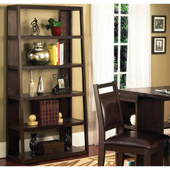 Buy Steve Silver Gavin Bookcase in Cherry on sale online