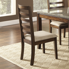Buy Steve Silver Geneva Side Chair in Brown on sale online