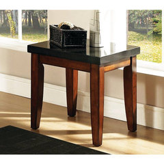 Buy Steve Silver Granite Bello 24x22 End Table in Cherry on sale online