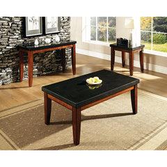 Buy Steve Silver Granite Bello 3 Piece Occasional Table Set in Cherry on sale online