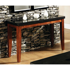 Buy Steve Silver Granite Bello 48x18 Sofa Table in Cherry on sale online