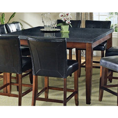 Buy Steve Silver Granite Bello Granite Top 54x54 Counter Height Table on sale online