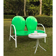 Buy Crosley Furniture Griffith 2 Piece Outdoor Seating Set - Loveseat & Table in Grasshopper Green on sale online