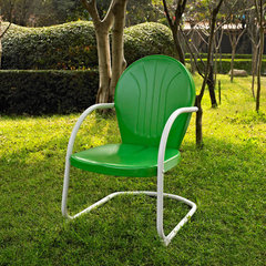 Buy Crosley Furniture Griffith Metal Chair in Grasshopper Green on sale online