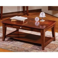 Buy Steve Silver Hamilton 48x26 Cocktail Table in Cherry on sale online