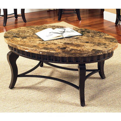 Buy Steve Silver Hamlyn 47x31 Marble Top Cocktail Table on sale online