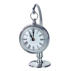 Buy IMAX Worldwide Hanging Clock in Pewter on sale online
