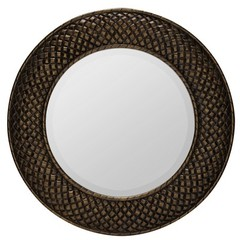 Buy Cooper Classics Hewitt Mirror in Aged Gold on sale online