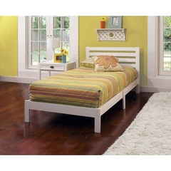 Buy Hillsdale Aiden Twin Bed in White on sale online