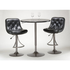 Buy Hillsdale Aspen 3 Piece Pub Table Set in Oyster Grey on sale online