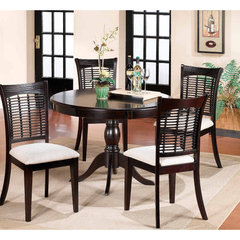 Buy Hillsdale Bayberry 5 Piece Round 44x44 Dining Room Set on sale online