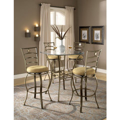 Buy Hillsdale Brookside 3 Piece 36x36 Pub Table Set w/ Marin Barstool on sale online