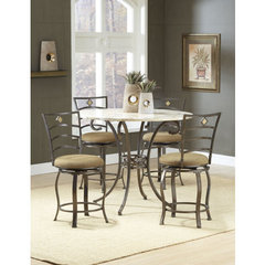 Buy Hillsdale Brookside 5 Piece Counter Height Set w/ Marin Stools on sale online